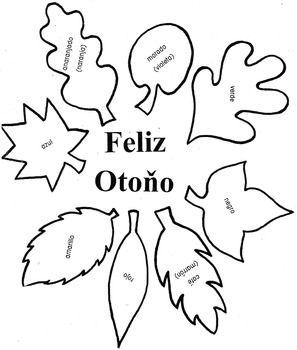 Distance Learning-La Guirnalda- Fall Wreath in Spanish- Back to School-Autumm