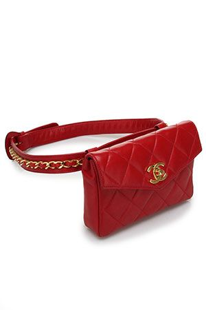 32c49ac54163 Fanny pack...Chanel style