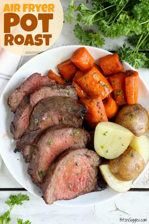 Air Fryer Pot Roast Recipe in 2020 Pot roast recipes