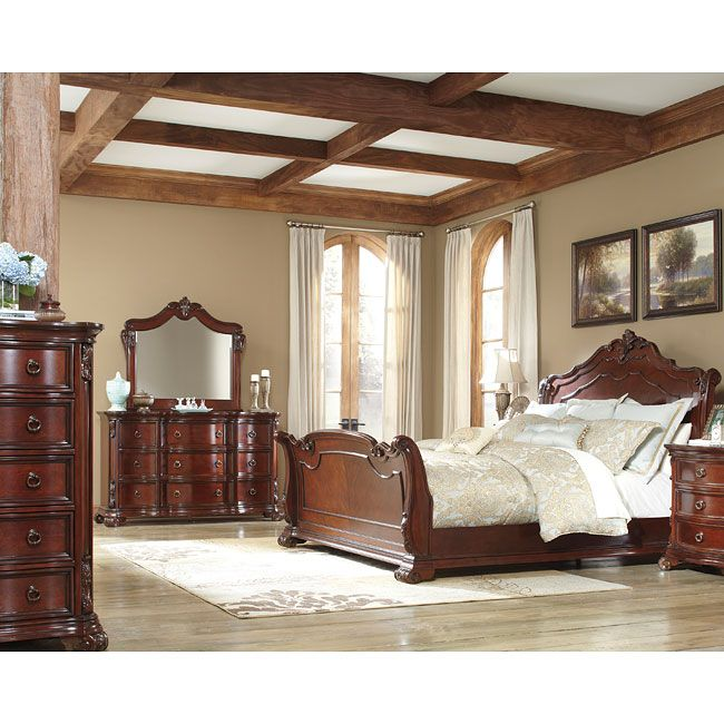 Martanny Sleigh Bedroom Set By Benchcraft By Ashley Furniture Top