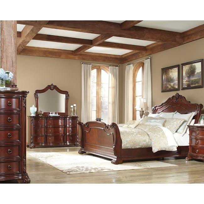 Martanny Sleigh Bedroom Set Sleigh Bedroom Set King Bedroom