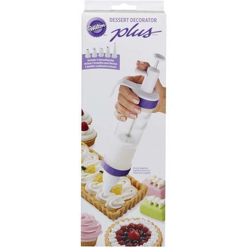 Dessert Decorator Plus Cake Decorating Tool Cake Icing Tool In 2020 Cake Decorating Tools Icing Tools Cake Decorating