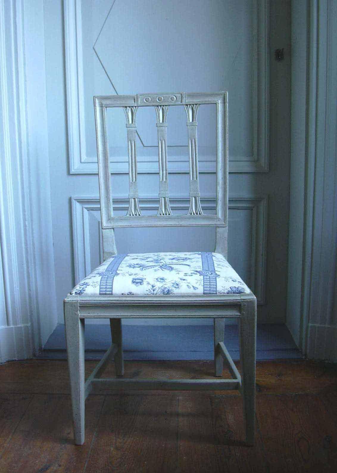 Gustavian chair, Tone on Tone