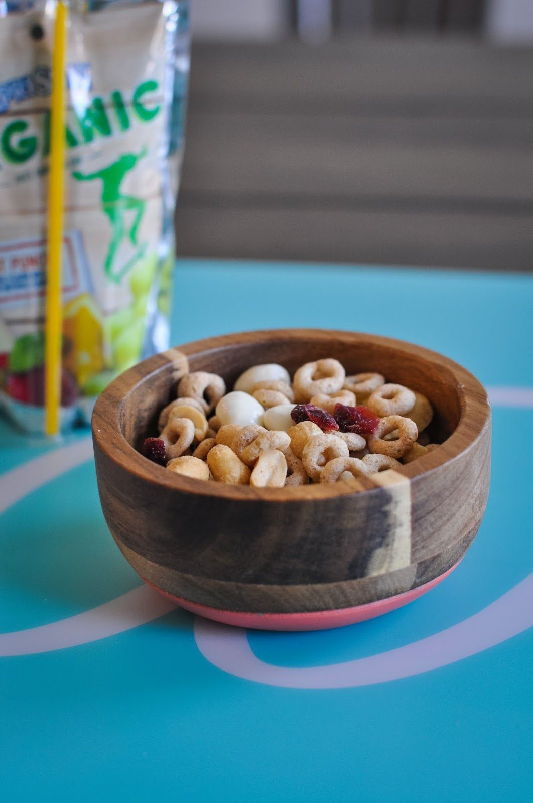 homemade better-for-you trail mix!