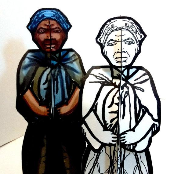 Harriet Tubman Coloring Paper Doll Set - Printable Toy ...
