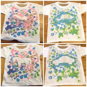 kinzie 39 s kreations t shirt painting for kids basteln kids pinterest. Black Bedroom Furniture Sets. Home Design Ideas