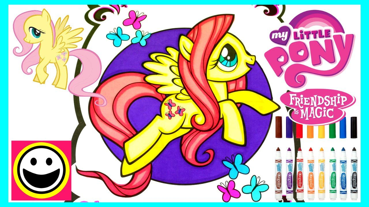 FLUTTERSHY - My Little Pony - MY LITTLE PONY Coloring Book ...