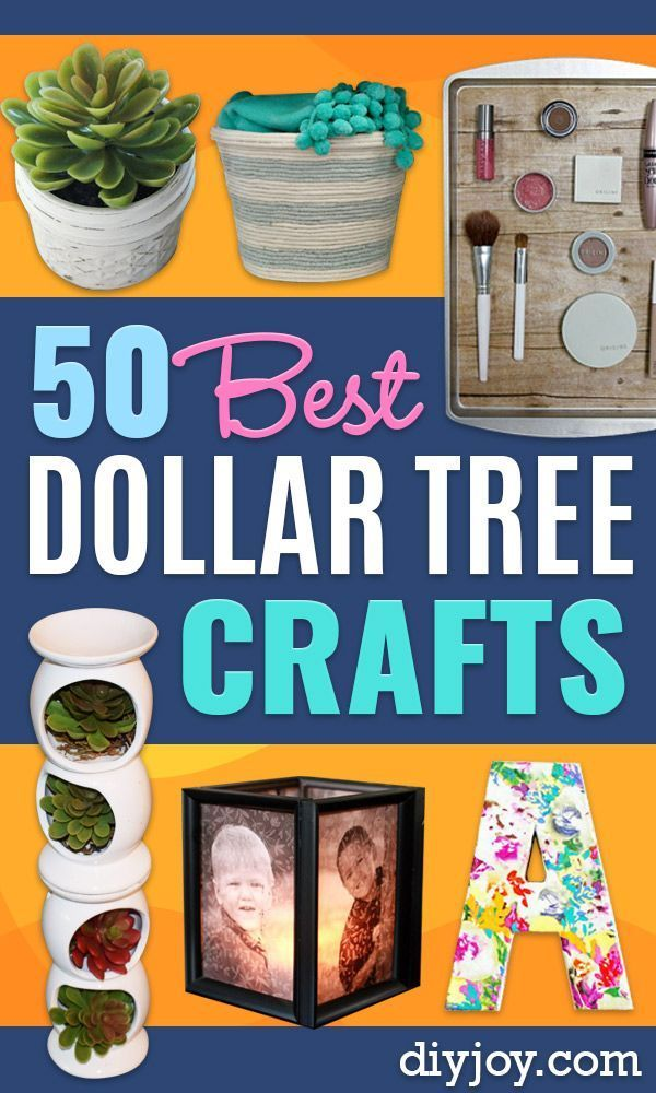 Photo of 50 DIY Dollar Tree Crafts