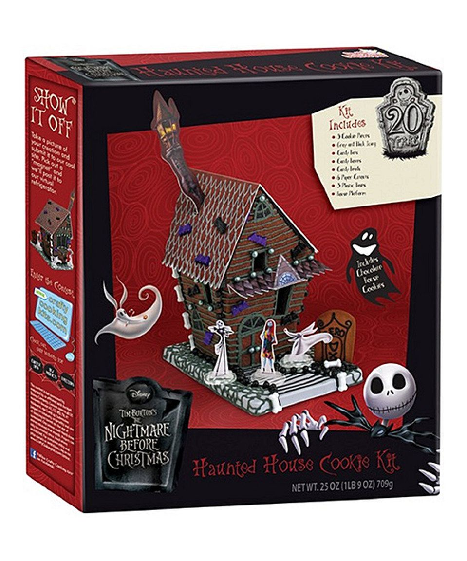Nightmare Before Christmas Haunted House Cookie Kit by The Nightmare ...