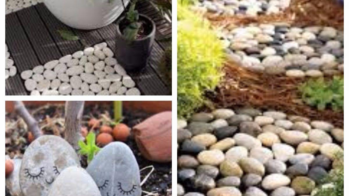 Des Idees De Decoration De Jardin Avec Des Galets Decoration Jardin Decoration Jardin Avec Galets Jardins