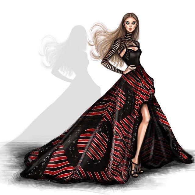 Fashion sketch illustration   Fashion sketches, Fashion