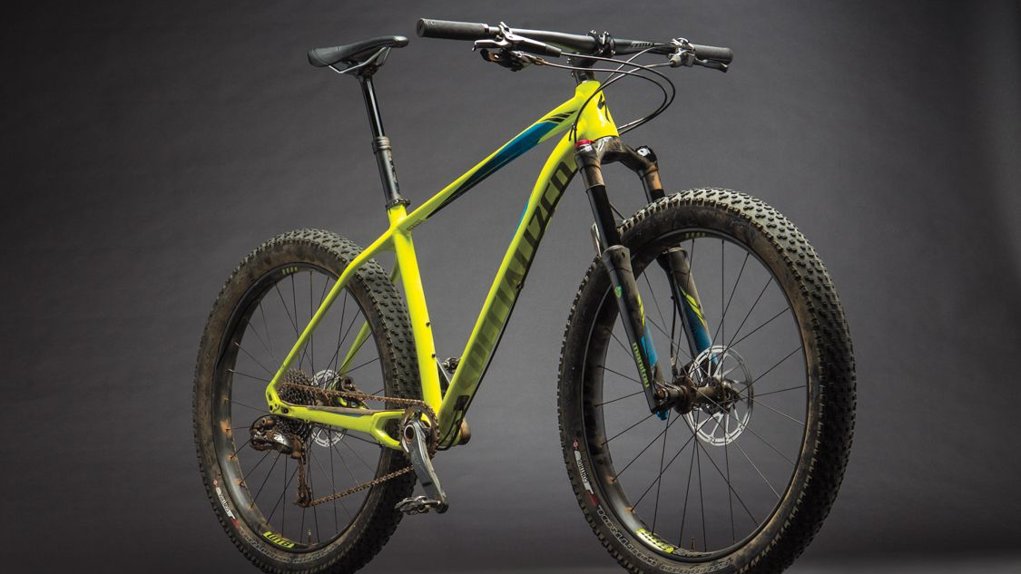 Review Specialized Fuse Expert 6fattie Bike Magazine Mountain