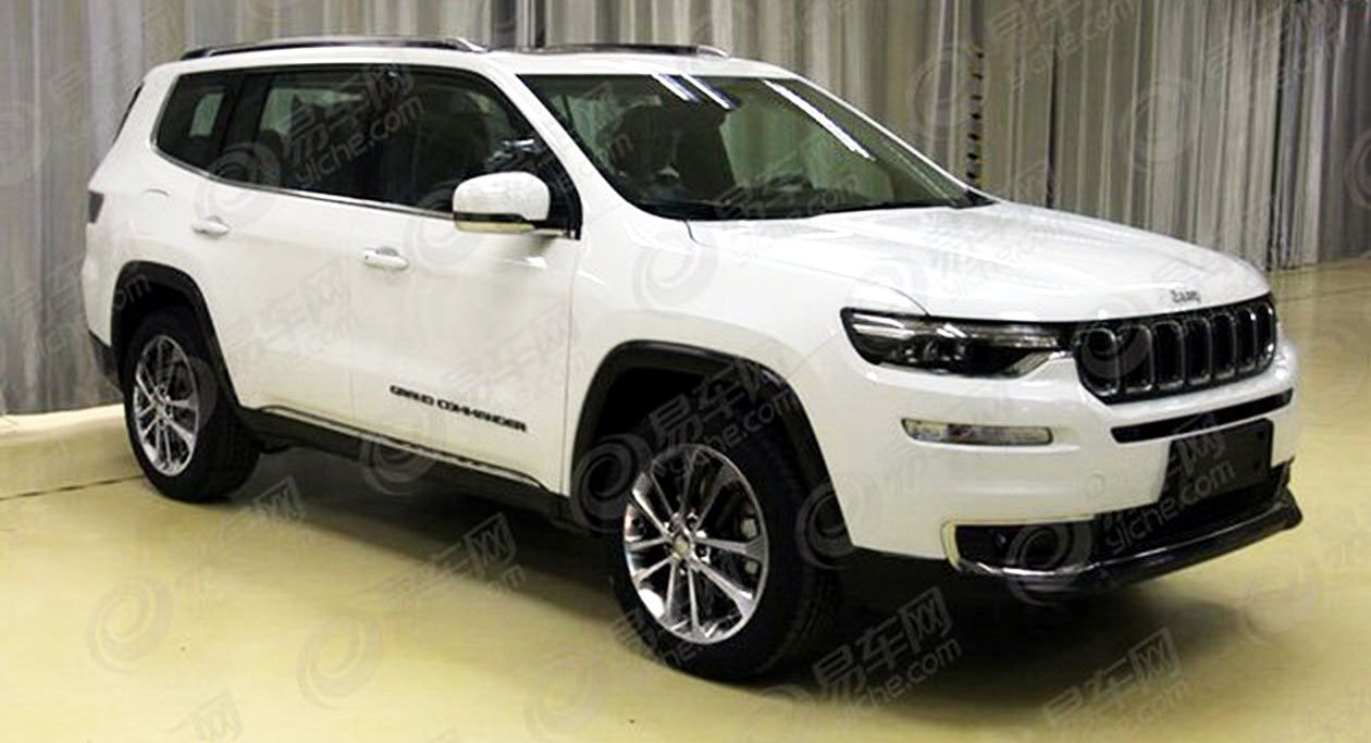 New 2018 Jeep Grand Commander 7 Seater Leaks Ahead Of China Debut