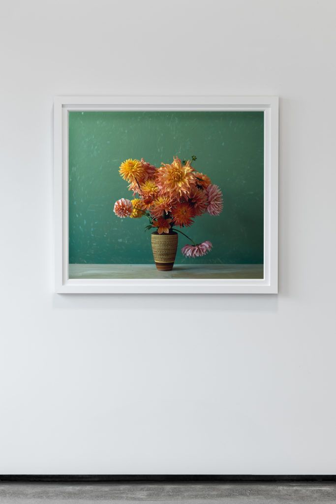 """Dahlias From """"Gild"""" - an exhibition by Billie Culy // New Zealand - available via Parlour Projects, Napier // as interviewed"""