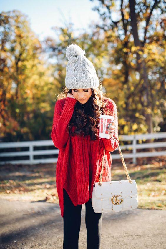 421ab7a0b Outfits en color rojo que te harán conseguir novio antes de terminar ...