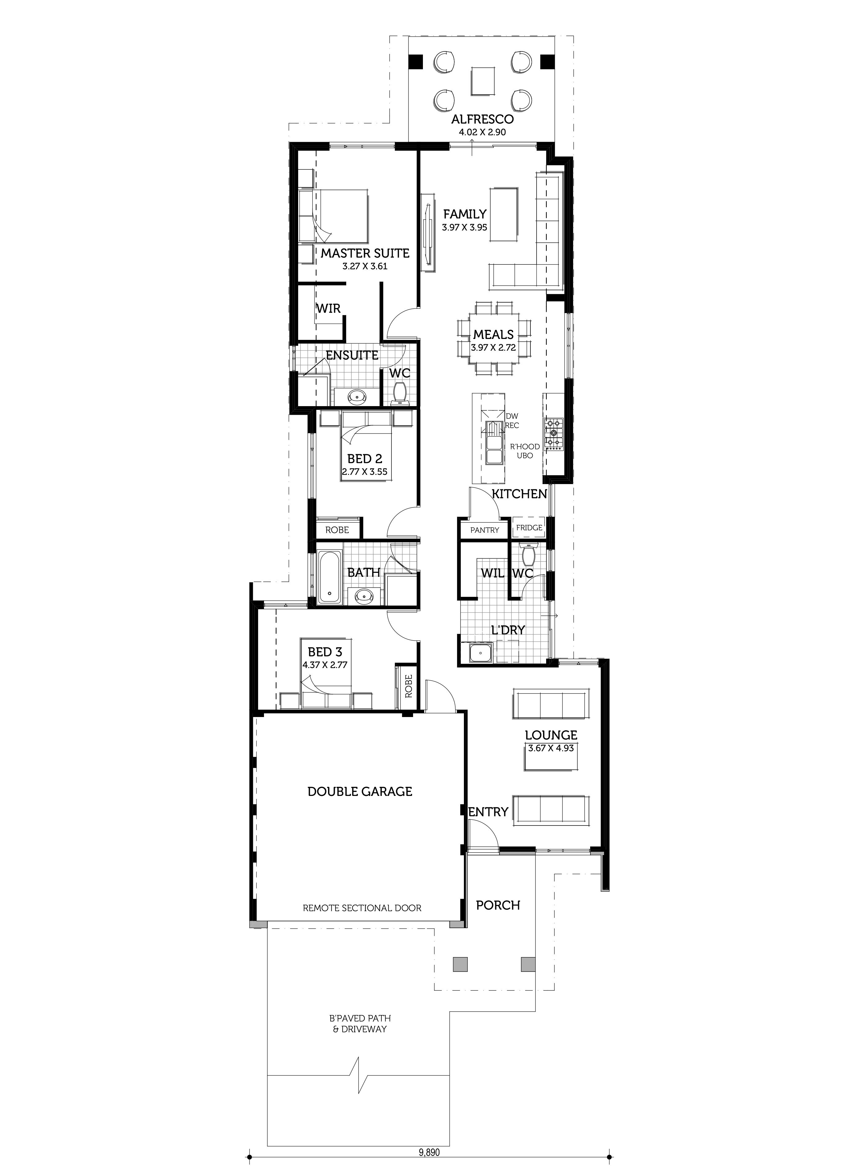 The Distinction Home Design Smart Homes For Living House Design Simple House Design Narrow House Plans