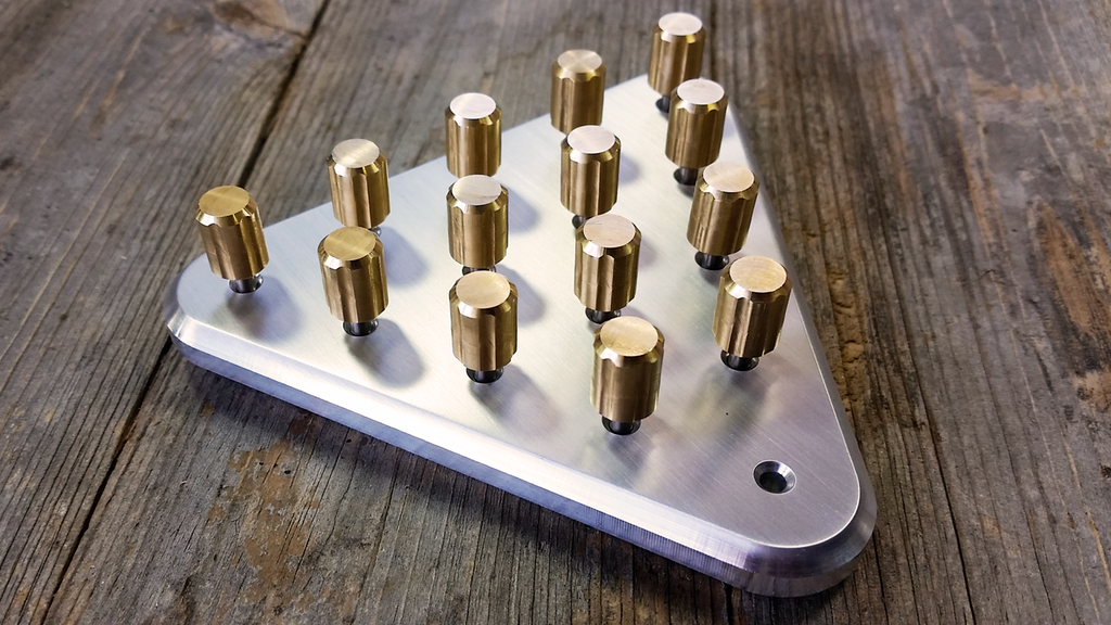 Peg Solitaire A CNC Machined Strategy Game project video