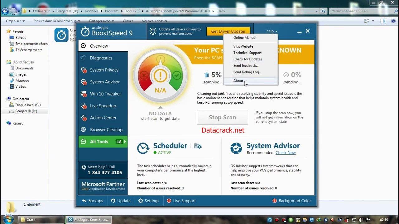 auslogics boostspeed 10.0.12 license key