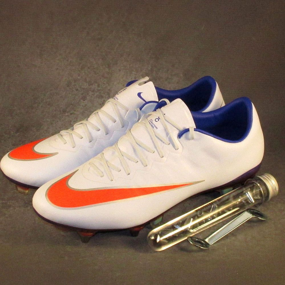 Sinewi cigarro metal  Nike Mercurial Vapor X SG Soccer Cleats Boots WOMEN'S Size 10 Blue/Crimson    Soccer cleats, Womens boots, Cleats