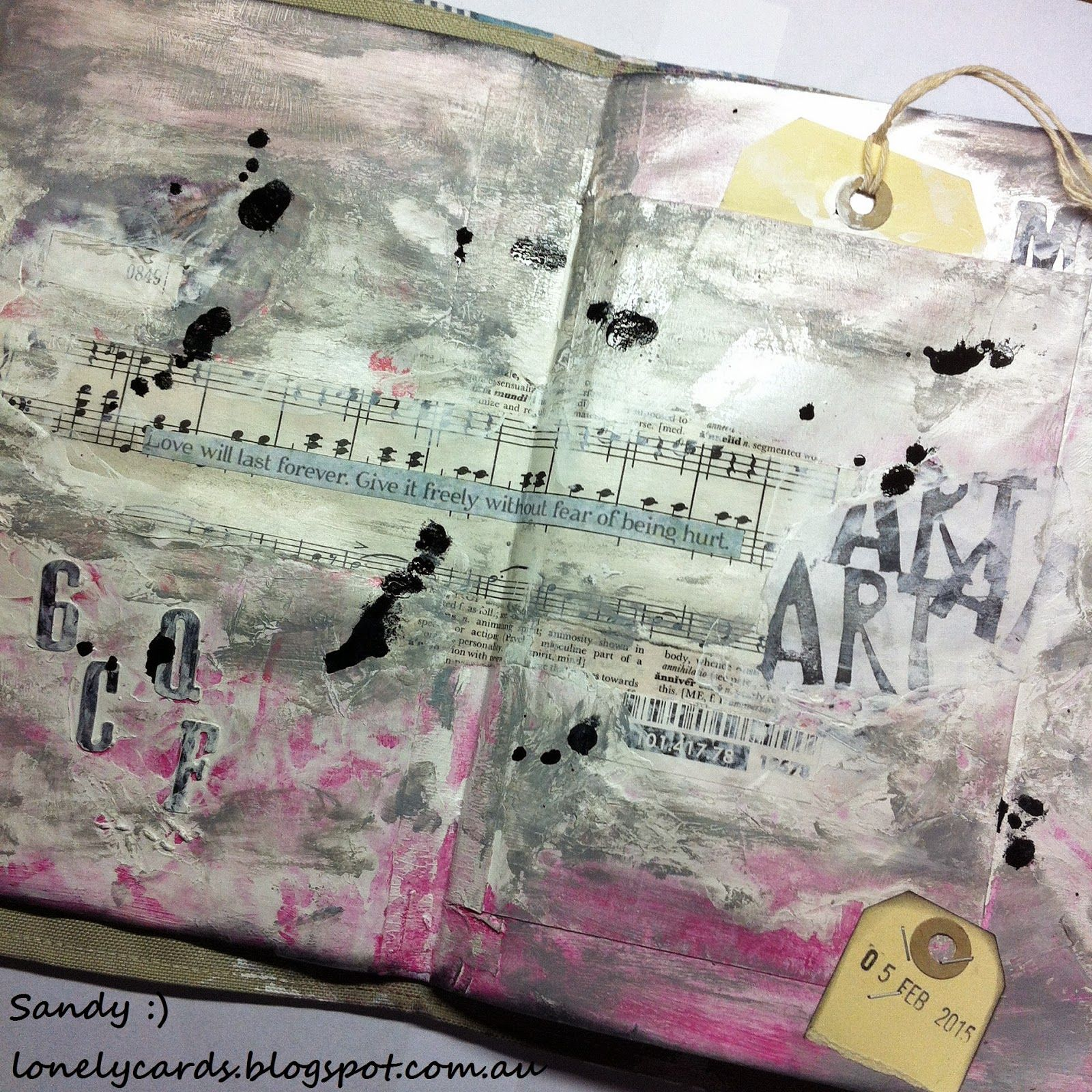Lonely Cards and other arty crafty things.: Inspiration Journal...