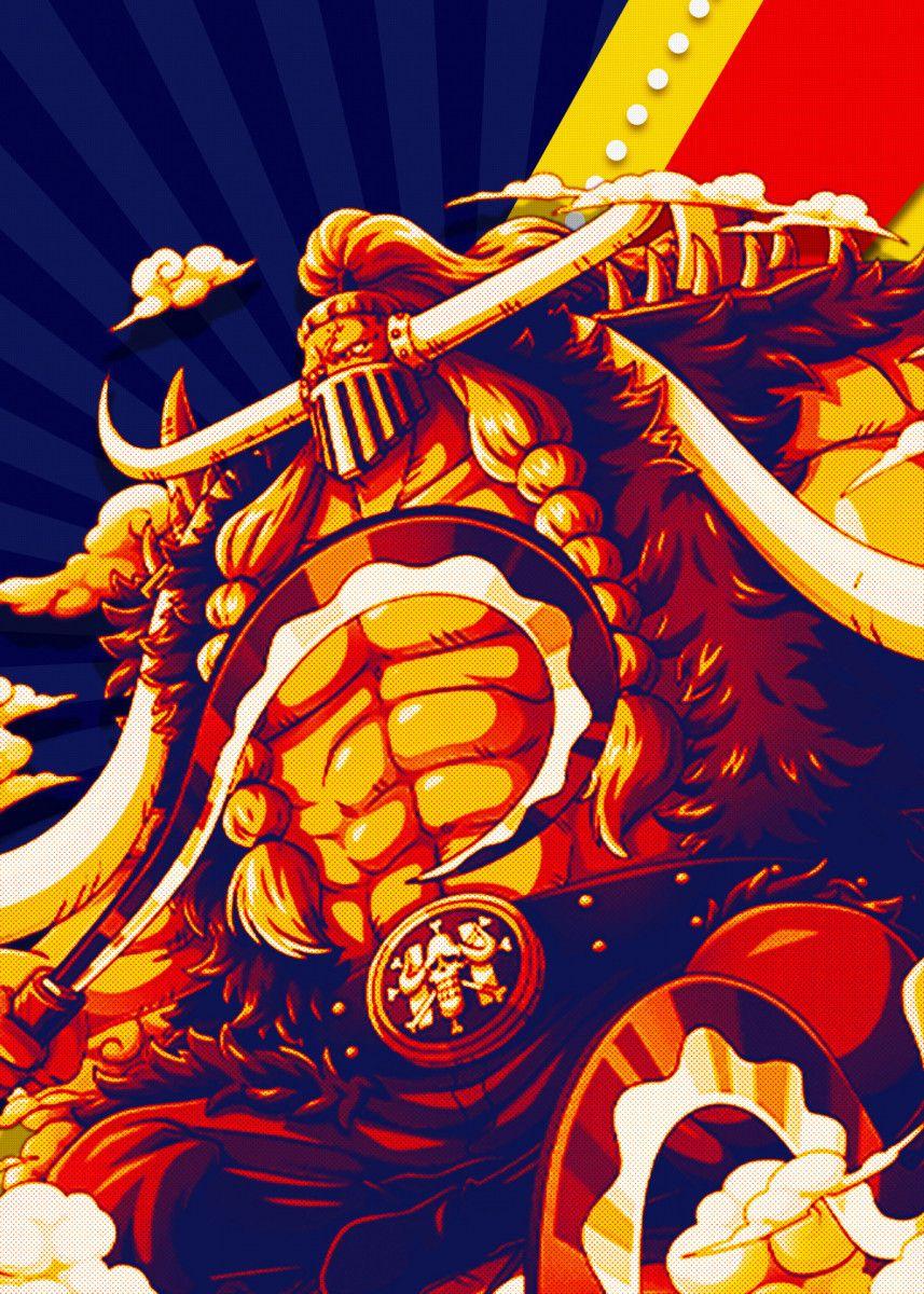 Jack One Piece Pop Art Poster Print | metal posters di 2020