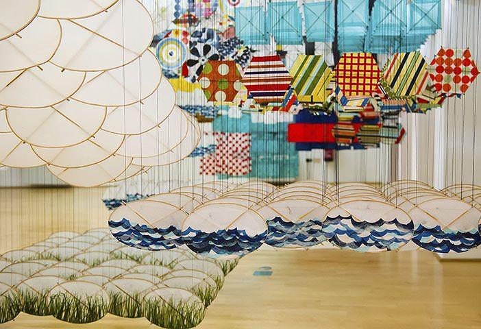 Venice biennale: Gas Giant by Jacob Hashimoto