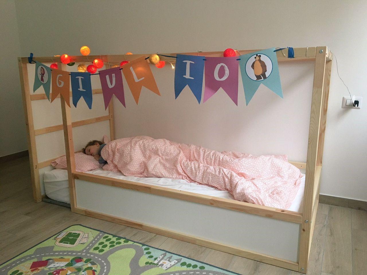 Letto Bambina Ikea.Letto Montessoriano Per Bambini Come Crearlo Con Ikea A