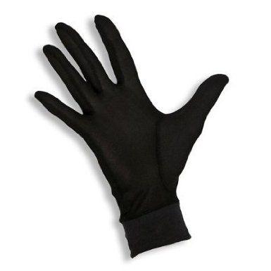 Small Jasmine Silk Pure Silk Gloves Thermal Liner Glove Inner Ski Bike Cycle Gloves 100gsm