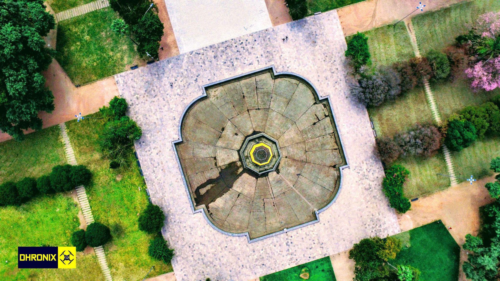 Harmonia da natureza - Parque da Redenção - POA | Dhronix Imagens com Drones | www.dhronix.com.br