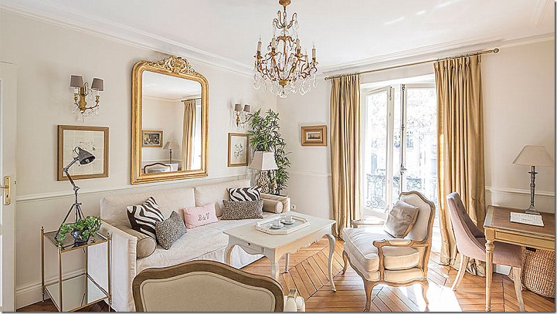 Paris Before And After Parisian Living Room Paris Living Rooms Paris Living Room Decor
