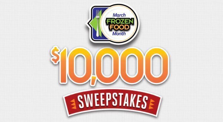 March Frozen Food Month 10,000