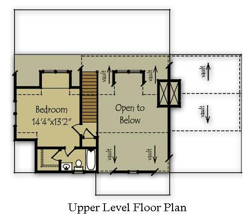 small mountain cabin plan by max fulbright designs cabin