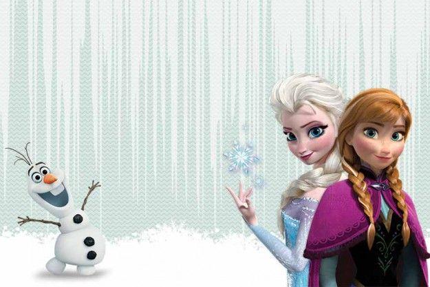 Frozen Elsa Anna Olaf Cupcake Wrappers /& Toppers Decoración Fiesta Cumpleaños Infantil