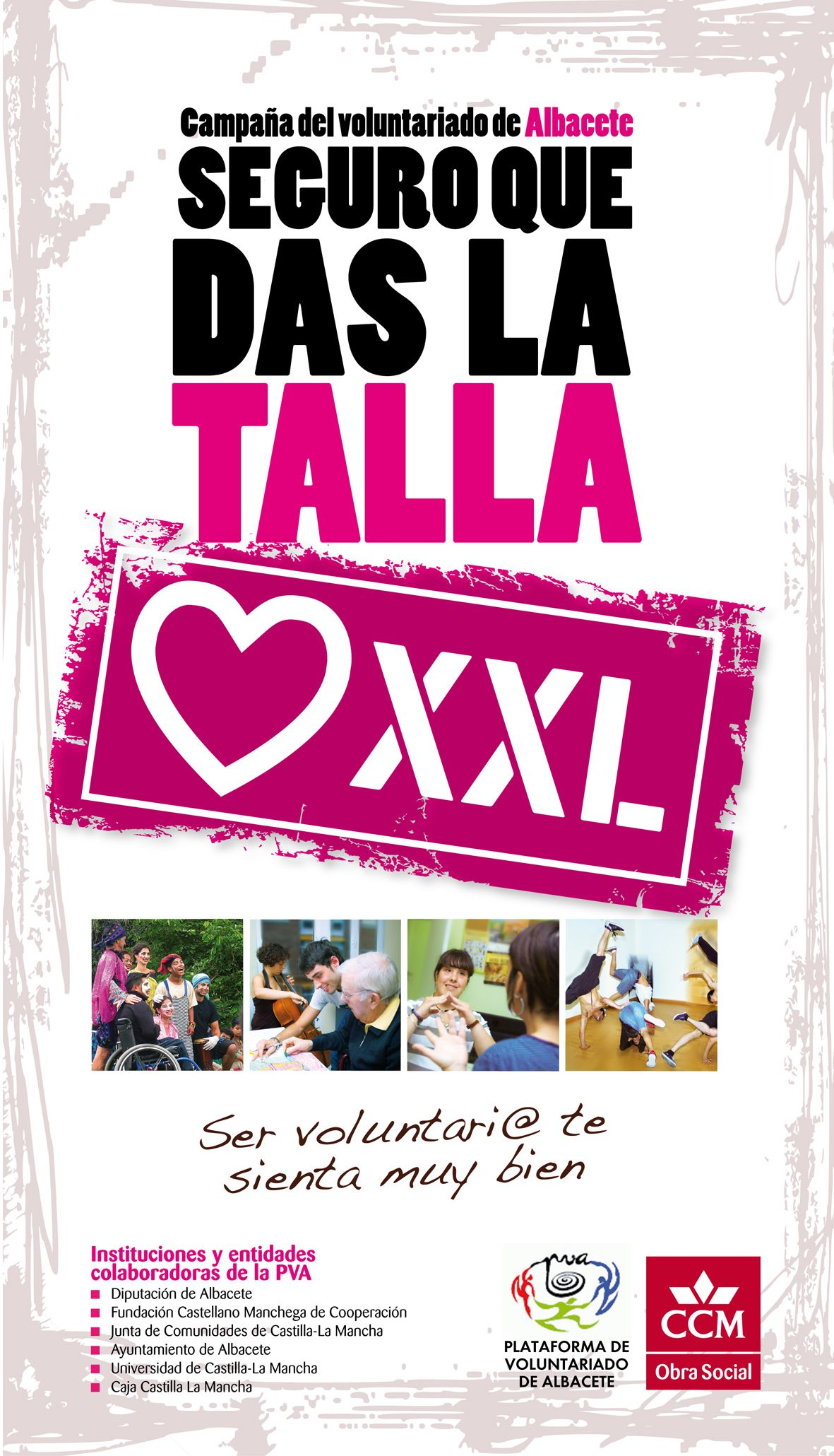 Cartel para la campaña de captación de Voluntariado. | pop up ...