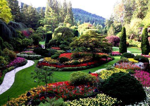 Удивительные Сады Бутчартов в Канаде - шедевры мирового ландшафтного дизайна!