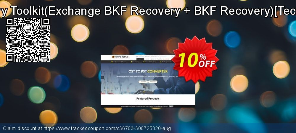 10 Off Backup Recovery Toolkit Exchange Bkf Recovery Bkf