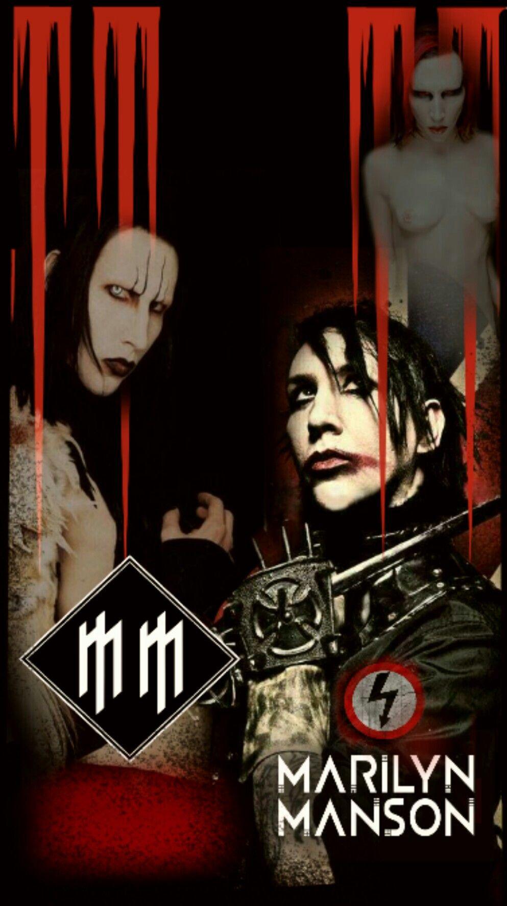 Wallpaper Marilyn Manson Marylin Manson Marilyn