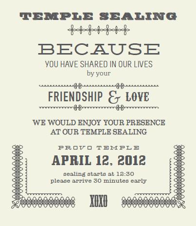 Temple Sealing Insert