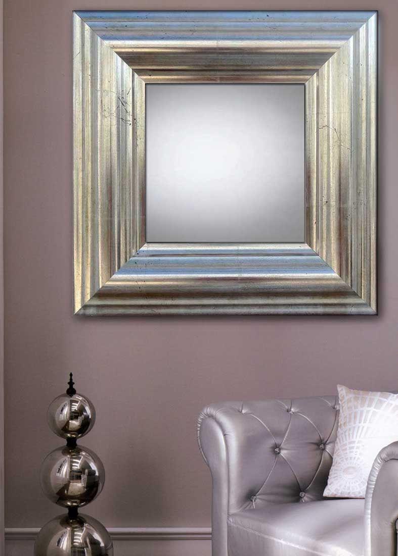Kjempebra Speil, modell MATARO. Speil med ramme i tre og en meget spesiell IC-38