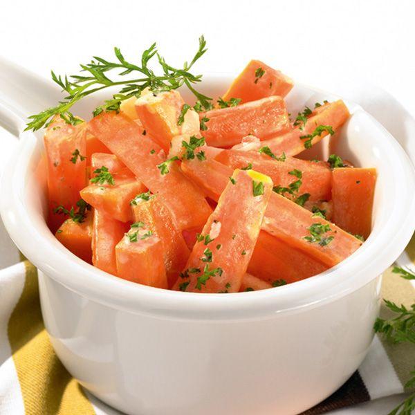 entulinea.es: Receta de entulínea - Guarnición de zanahorias