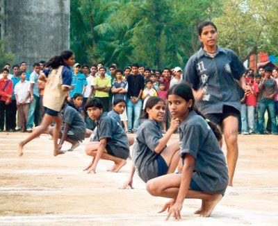 Kho Kho (கோ கோ) - Indian Traditional Games No games