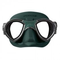 Sporasub Mystic Mask Black Silicone Green maski