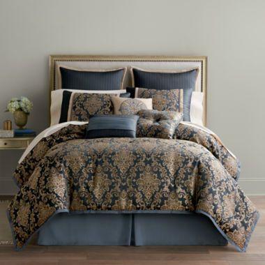 Home Expressions Selina 7 Pc Jacquard Comforter Set