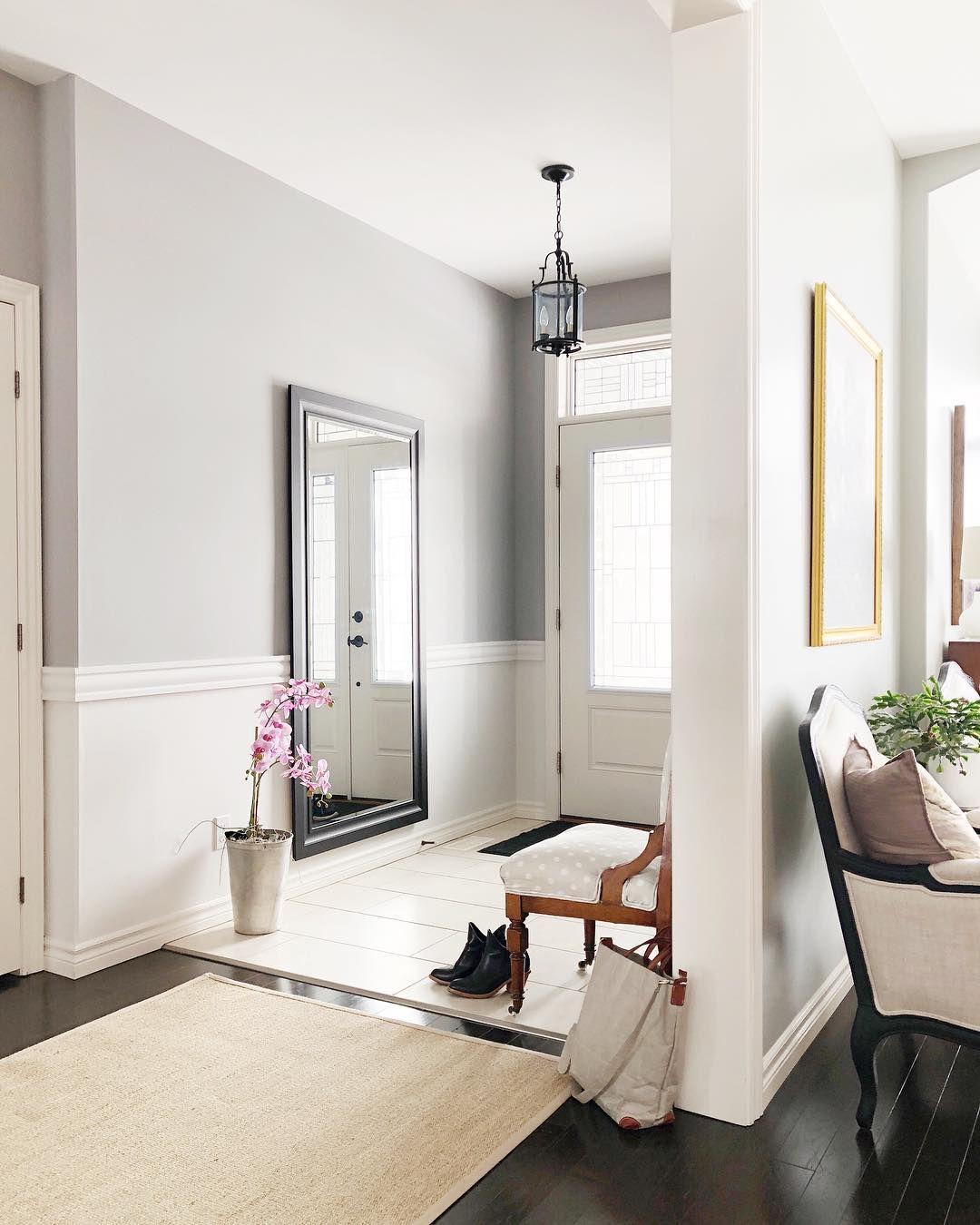 entryway | Moldings and trim, Dado rail living room ...