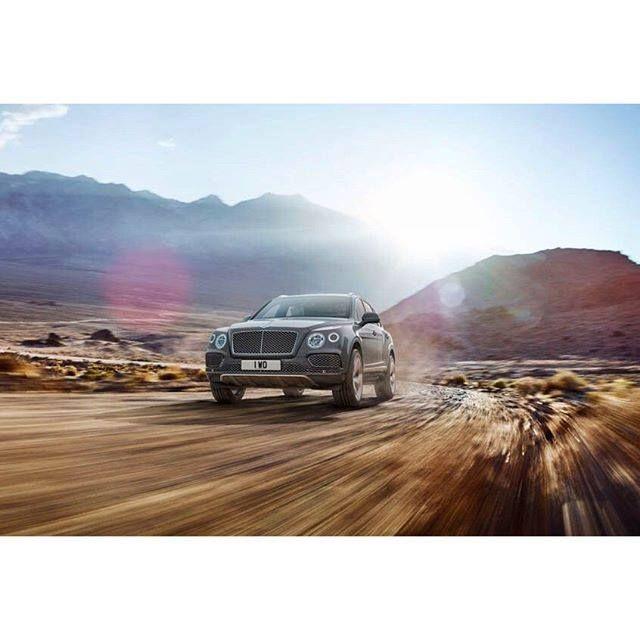#Bentley #Bentayga is highly capable both on and off-road. - photo from bentleymotors #FieldsMotorcarsOrlando #Orlando #Florida #exotic #cars