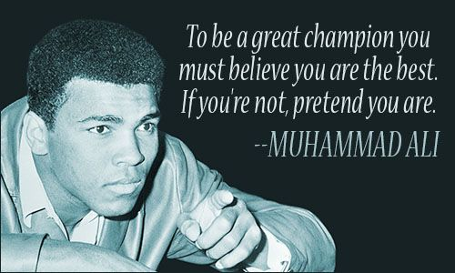 Muhammad Ali Quotes Muhammad Ali Quote«  Wisdom  Pinterest  Ali Quotes American