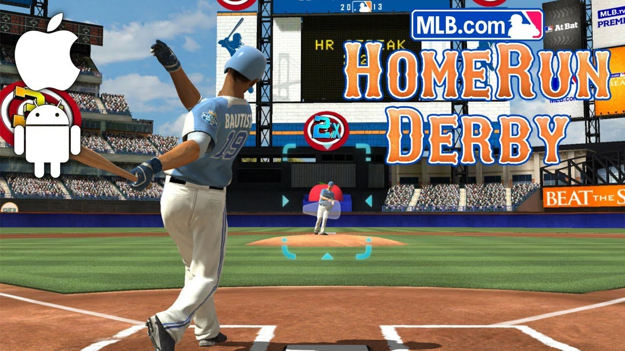 Mlb Com Home Run Derby Review Ios Android Homerun Derby Games Video Game Wall Art