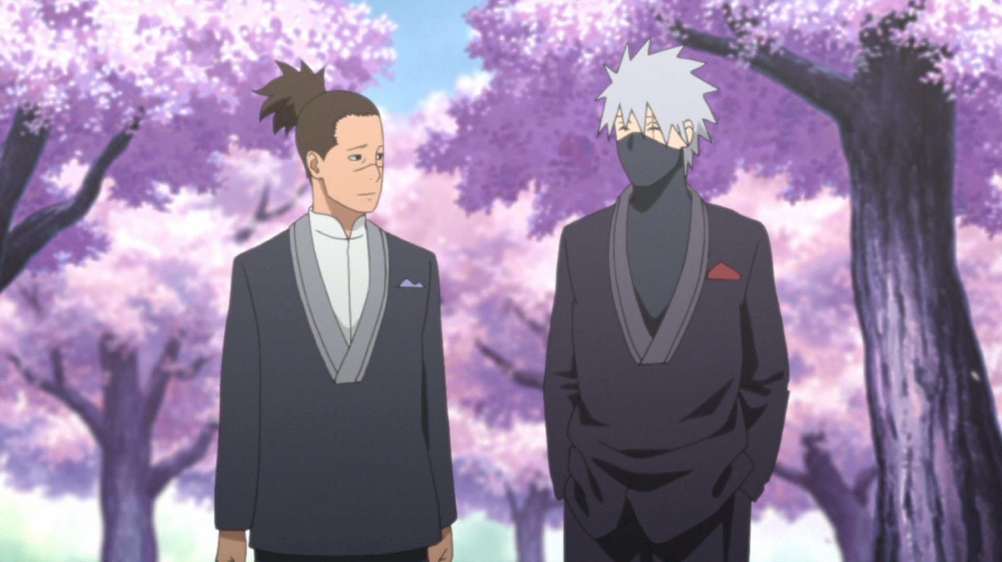 Both Sensei Kakashi And Iruka At Nature S Wedding Day Anime Anime Naruto Kakashi Hatake