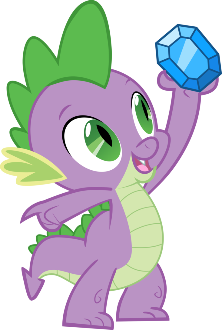 My Little Pony Personnages : little, personnages, Spike, Little, Characters,, Pony,