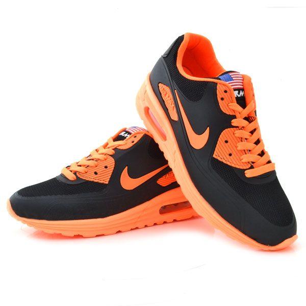 Nike Air Max Siyah Turuncu Bayan Ayakkabi Spor Nike Air Max Nike Nike Air